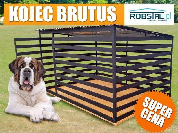 BARDZO MOCNY Kojec dla psa BRUTUS - klatki kojce dla zwierząt