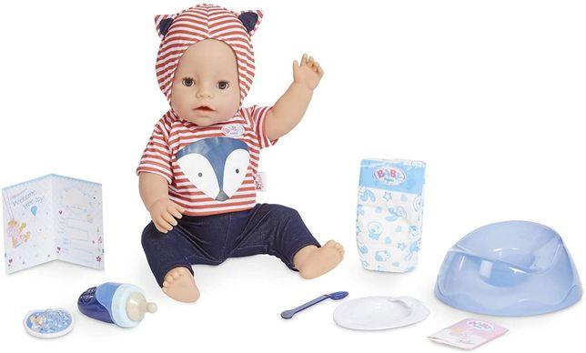 Интерактивная кукла пупс оригинал Baby Born Interactive Baby Doll маль