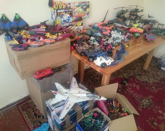 G.I.Joe duży zestaw pojazdów.