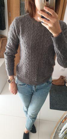 Sweter z domieszką wełny Mango S/M