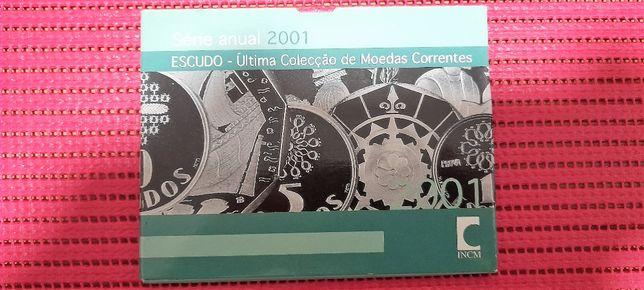 Carteira Anual BNC 2001 a Ultima do Escudo Aceito ofertas
