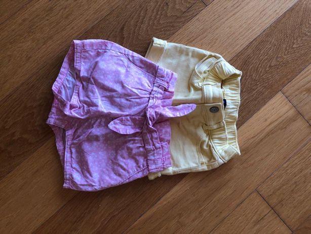 Gap - calções para menina 2 anos