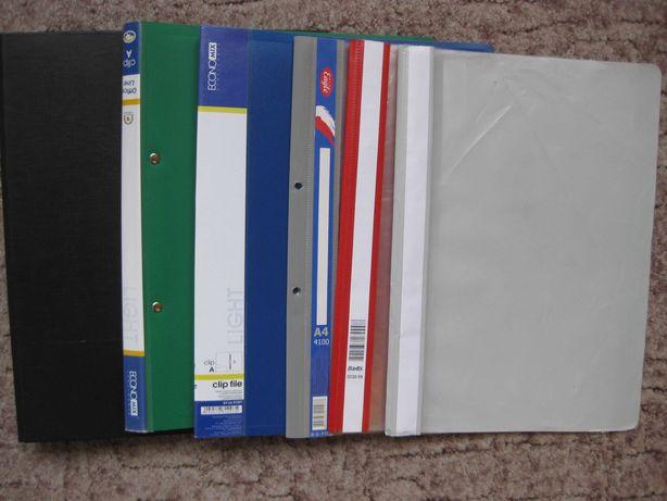 Скоросшиватели, папки накопители -  б/у 10- 70 мм. разные цвета