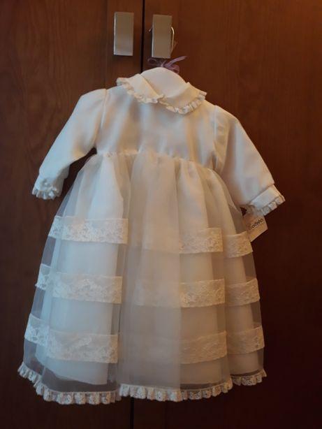 Vestido de Baptizado NOVO.