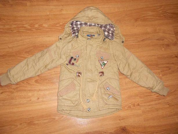 осиння куртка для хлопчика