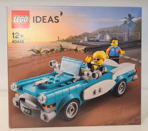 Lego Ideas 40448 - Vintage Car, Zabytkowy Samochód