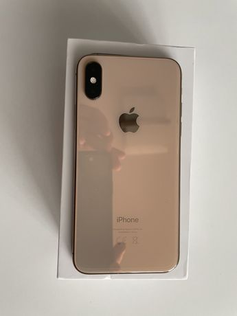 Iphone xs 256gb zloty gold