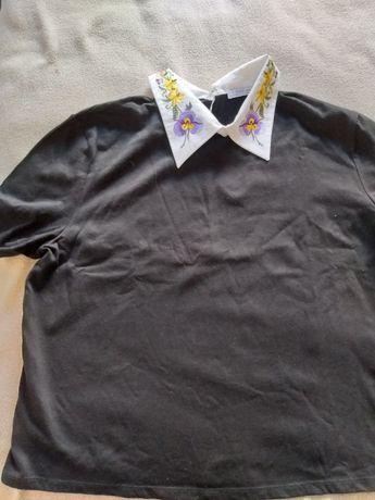 T-shirt Zara golas bico