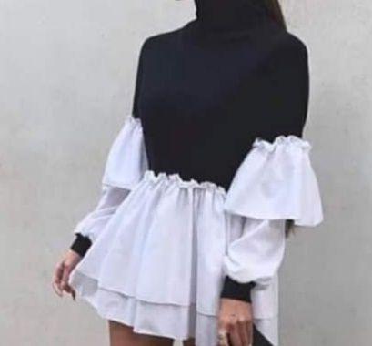 Sukienko koszula. Inna niż wszystkie. Pół golf. Polecam