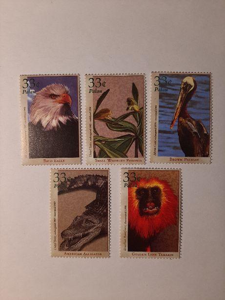 Znaczki pocztowe - zestaw 24