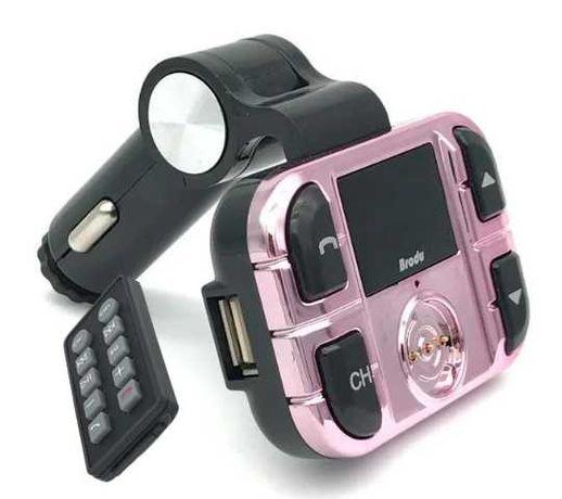 Transmiter Bluetooth Radio FM Ładowarka USB SD Przewód Do IPHONE