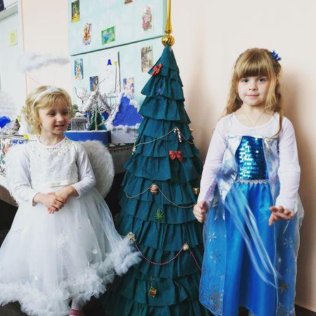 Нарядное, новогоднее платье на девочку 5-7лет