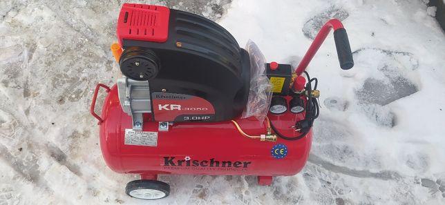 Kompresor olejowy sprężarka Kirschner KR 3050 - 50l / 8bar