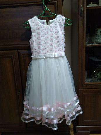 Sukienka wizytowa dziewczęca 146 cm