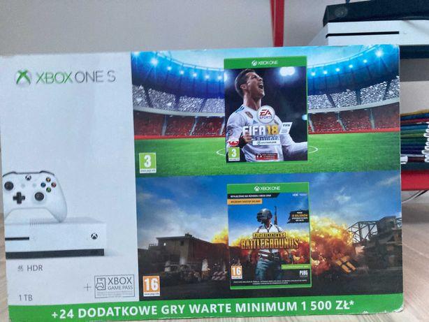 konsola XBOX ONE S + 2 PADY+ 2 x gra+ Kinect WYSYŁK