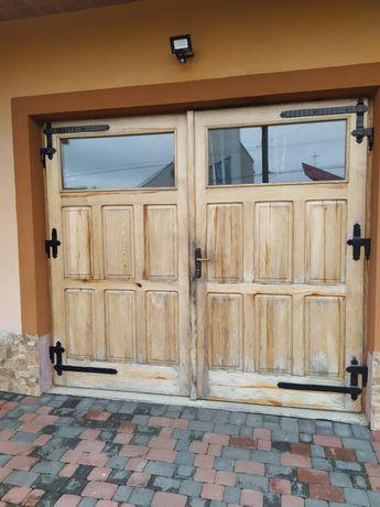 Drzwi na budowę do garażu