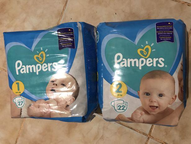 Минус 50 грн Подгузники памперс Pampers active baby pants sleep 1 2 4