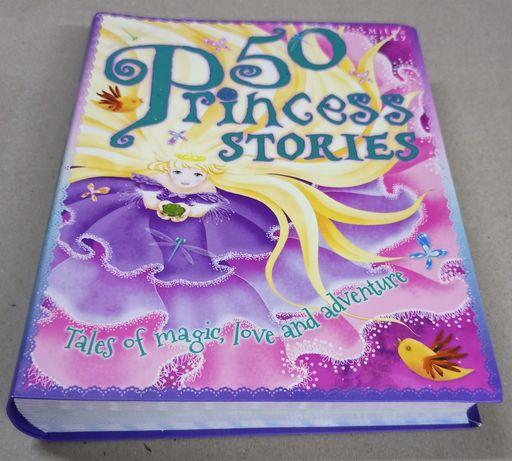 """Książka do nauki języka angielskiego pt. ,, 50 princess stories """""""