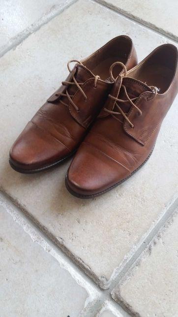 Buty chłopięce. Pantofle - do komunii