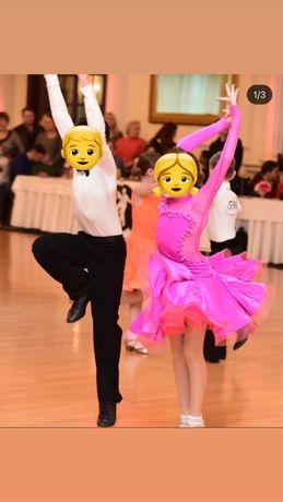 Платье для бальных танцев 134-140