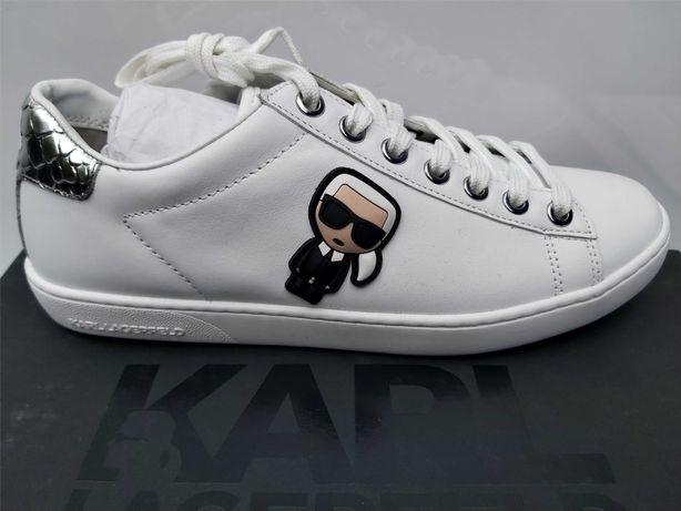 NOWE sneakersy KARL LAGERFELD trampki tenisówki icon 37
