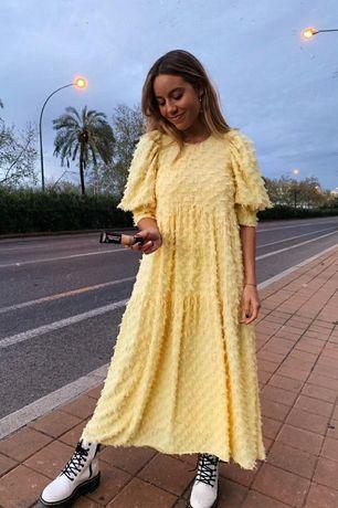 Стильное платье Zara. Шикарное платье Зара