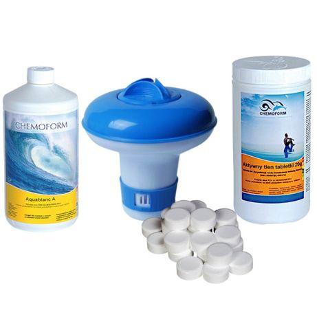 Chemoform Aktywny tlen w tabletkach do basenu, tabletki -20% PABIANICE