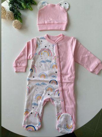 Одежда для малыша слипик/человечик/бодик