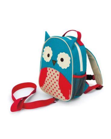 Скип хоп Детский рюкзак с поводком Сова Skip Hop Zoo Owl