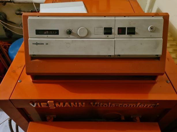 Piec olejowy viessmann 29 KW + 2 zbiorniki 1500litrow