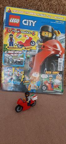 Lego city Розвощик піци +журнал