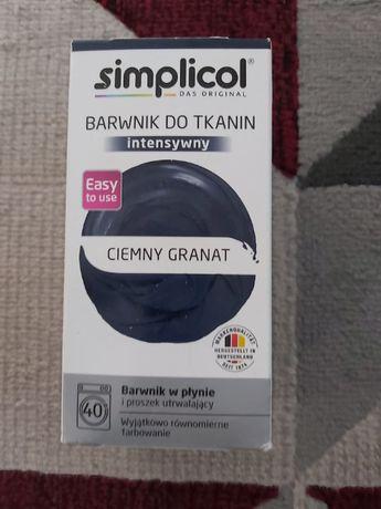 Simplicol barwnik do tkanin ciemny granat
