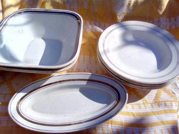 Наборы  тарелок, салатники, фруктовница