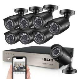 Pack Video Vigilancia CCTV Zosi 8 Cameras + Gravador Novo