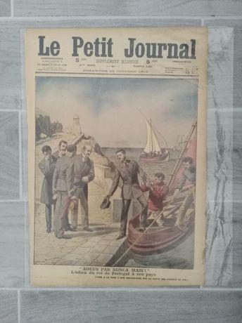 Le Petit Journal 4 egzemplarze- ilustrowany dodatek. Super na prezent.