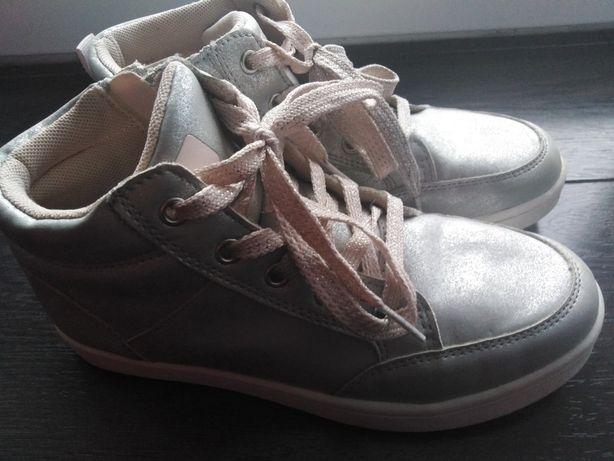 Buty skórzana wkładka lekko ocieplane