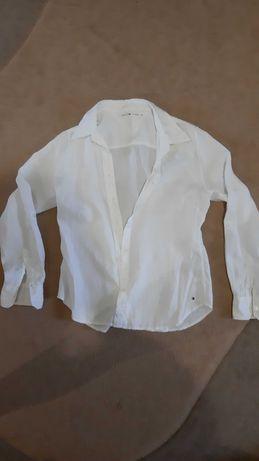 Рубашка женская лён Tommy Hilfiger