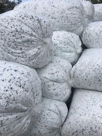 Granulat styropianowy 35zł/m3 docieplenie styrbeton styrobeton
