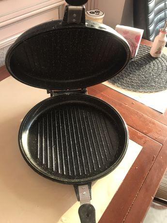 Продам сковородку гриль турбогриль бу