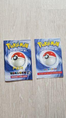 Karty pokemon . Instrukcja,zasady gry
