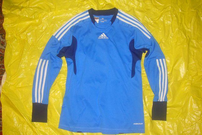 Koszulka Adidas Formotion chłopięca bluza 164 niebieska piłkarska P-Ń