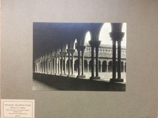 ANTYK Fotografia Klasztor Ripoll Hiszpania Lata 20. XX w. Oryginał!