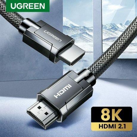 Кабель Ugreen HDMI 2.1 8K-60Hz 4K-120Hz 3D HDR eARC Премиум Гарантия!