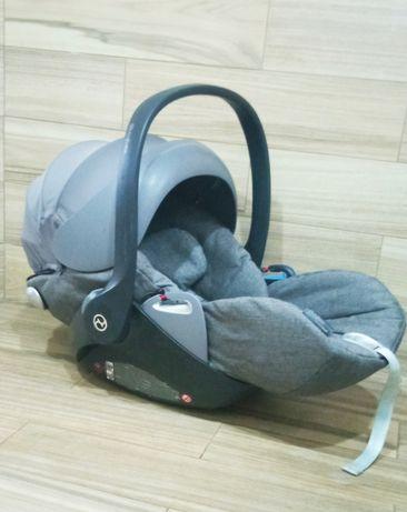 Cybex cloud q platinum автокресло для новорожденных спинка опускается