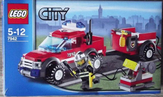 Lego CITY 7942 - staż pożarna