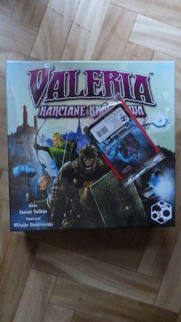 Valeria karciane królestwa Folia + 2 dodatki