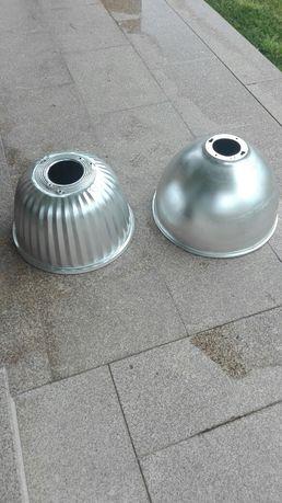 Campânula em alumínio para candeeiros