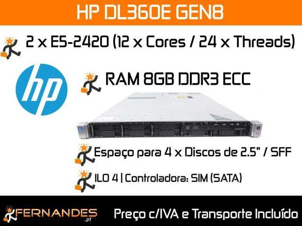Servidor 24 vCPUS / Threads | 8 GB RAM |
