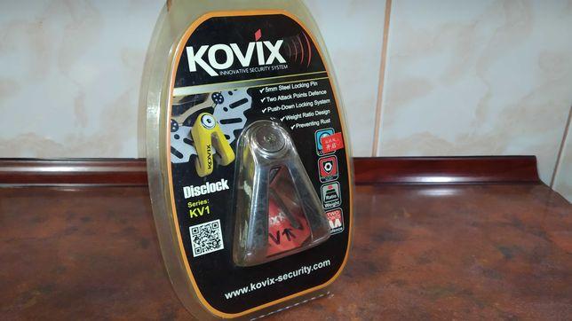 Мотозамок на тормозной диск KOVIX KV1