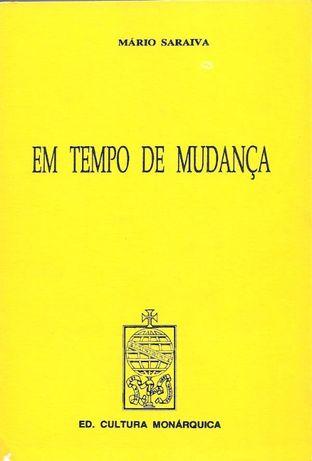 Em tempo de mudança - Mário Saraiva